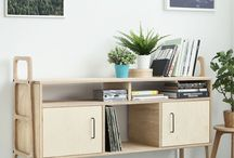 Sideboard FRISK by Plywood Project - Plywood furniture