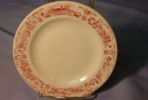 Restaurant Ware Dishes / Just Love Of Old Dishes / by Nadine Reusser