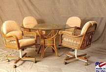 Stanley Chair - Made in the USA / Stanley Chair has been building beautiful Rattan and Wicker at their Tampa, Fl. factory since 1949!