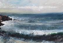 Oil Paint - Seascape
