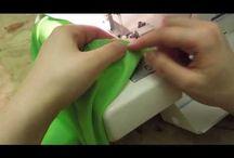 Šití gumy