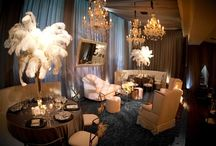 Old Hollywood Glam / Weddings and parties with an old hollywood Glam theme