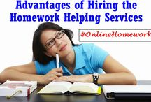 Online Homework Help / Looking for Online Homework? We are the best & well known online homework helper in the web. We not only believe in provide customized solution but also believes in giving range of other facilities to the students.