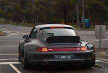 widebody Porsche