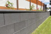 Concrete block finishes