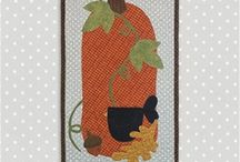 Back Door Quilt Series / Add a special touch to your back door with these wall hangings from the Back Door Quilt Series!