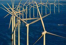 Windmolens offshore windfarms (+ nearshore)
