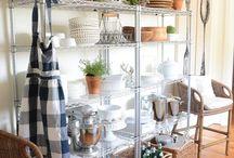 Dish Storage Ideas