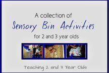 Montessori/Childcare at home Ideas