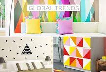 Global trends - geometric Patterns | Luxury Home Decor