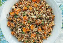 Recipes / Butternut Quinoa salad