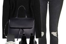 Outfits • Black