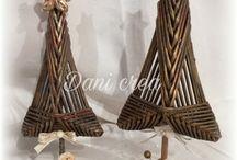 плетеные елочки
