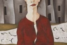 Office Wives 1997 / Paintings