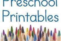 Pre-school activities worksheet