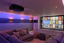 interior home theater