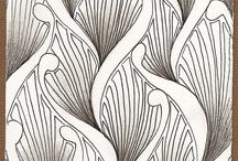 tangles and zen patterns