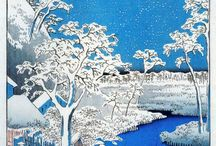 A love of japanese art / Love the woodprints / by stephen carter