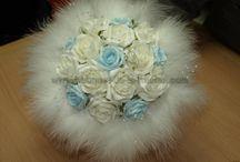 Bouquet Mariée Rond /   Bouquet de la mariée en forme de 'rond' http://bouquet-de-la-mariee.com/4-bouquet-mariee-rond