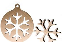 Wooden New Year Laser Gifts