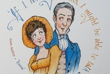 Jane Austen / One of my most favorite authors