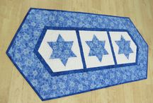 Quiltsy, Hanukkah Items from Etsy Quiltsy Team / Hanukkah Quilts and decor
