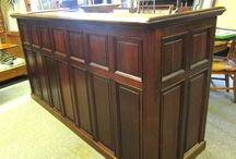 Front and Back Bars Hand Crafted / Hand crafted or re-purposed items by Architectural Salvage