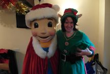 Children's Advenutre Farm Trust Christmas Party / Staff from Howard Worth's Northwich office recently volunteered to play Christmas characters at one of the many Children's Advenutre Farm Trust Christmas Parties, where disabled, disadvantaged and deprived Children are treated to a magical day of fun  www.caft.co.uk