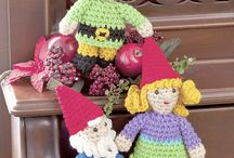 elves, gnomes, fairies