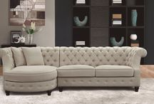 A Chesterfield sofa L
