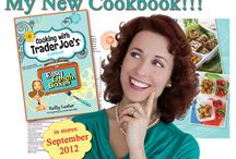 """My Book!!! / """"Cooking With Trader Joe's Cookbook - Easy Lunch Boxes."""" A beautiful guide to help you pack fresh, wholesome meals-to-go for kids and adults… FAST. In stores September, 2012. / by EasyLunchboxes"""