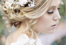 Wedding hair & makeup / by Tia King
