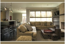 Family Room Inspiration / Inspiration for design and redesign of my family room in a contempo/modern way.
