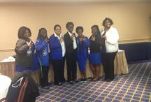 State of Mississippi Basilei Retreat 2015 / Zeta Leadership being trained