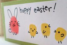 Frühling Ostern Familie