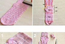 bichinhos de meias