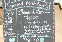 {CELEBRATIONS} Little Birthdays / Little birthday parties