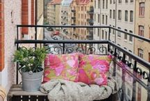 samenwonen - balcony