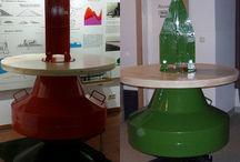 Stehtisch - bar table - Boje - buoy / Stehtische Wasserbauerstyle