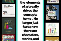 Elements of Art & Principles of Design for Kids / Projects, lessons, crafts, books, and videos to teach children about the Elements of Art and Principles of design (the grammar of art).