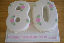 Number Eighty Cake Designs