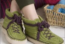 Knit and crochet sox