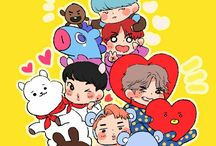 BT21 / They just so adorable, I can't stop pin it