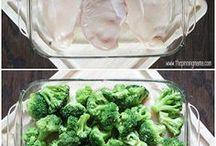 cheesy brocolli chicken