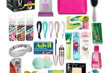 Teenage girl survival kit