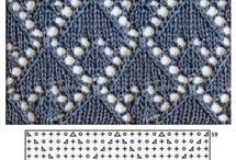 *Схемы, техника вязания