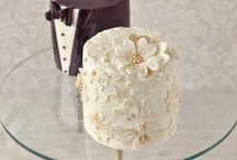 Svatební dorty a cukroví / Nástěnka plná sladké krásy a dobrot. Pojďte alespoň očima ochutnat i Vy!
