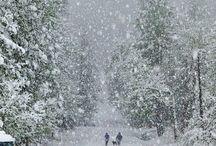 sneží