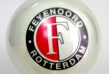 Bombka Feyenoord Roterdam / Bombka z kogo holenderskiego klubu z Roterdamu.