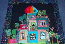 Hundertwasser Quilt Inspiration